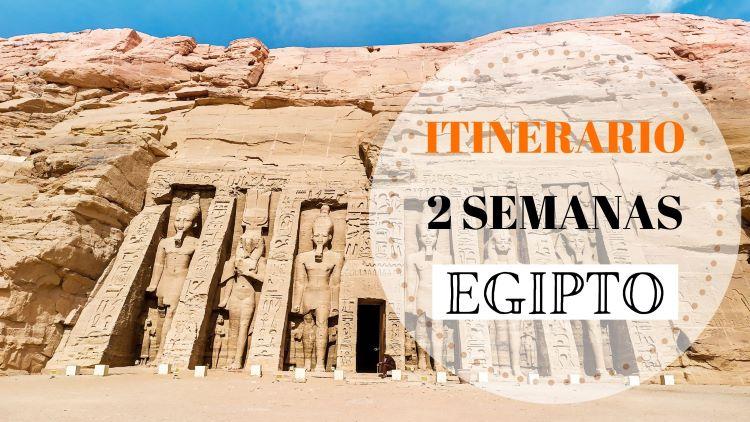 Portada itinerario por Egipto de dos semanas