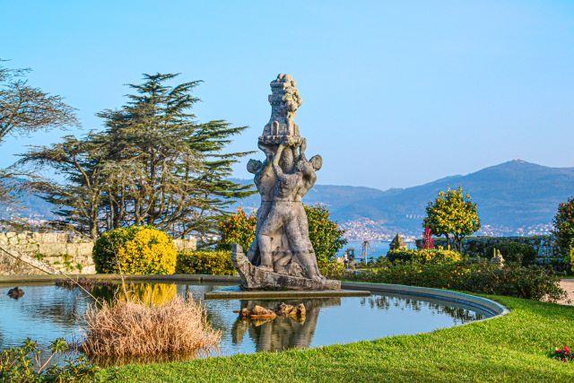 Jardindes y panorámica desde elMonte do Castro, un lugar imprescindible que ver en Vigo en 1 o 2 días