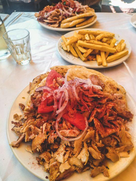 Mejor souvlaki de Atenas