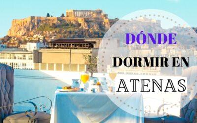 Dónde dormir en Atenas: mejores zonas y hoteles más recomendados