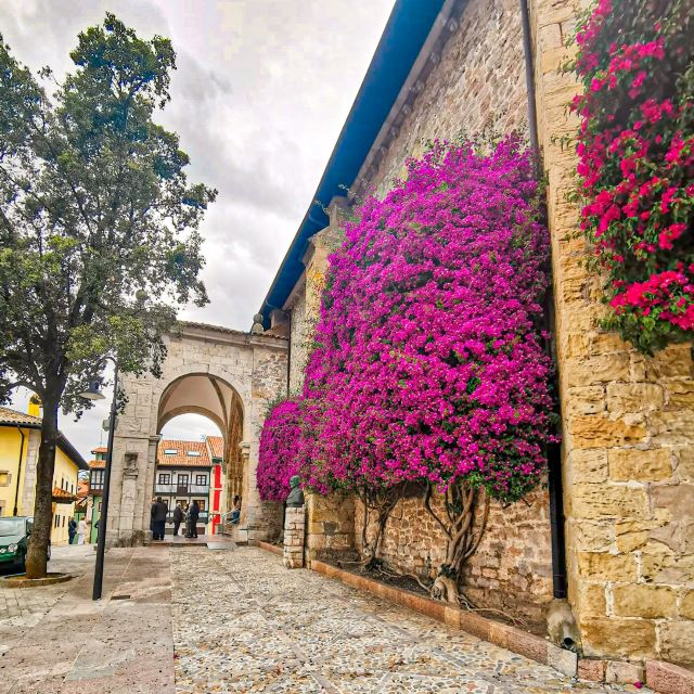 Calle del casco histórico de LLanes