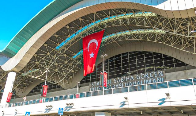 Cómo ir del Aeropuerto Sabiha Gökçen a estambul: entrada principal