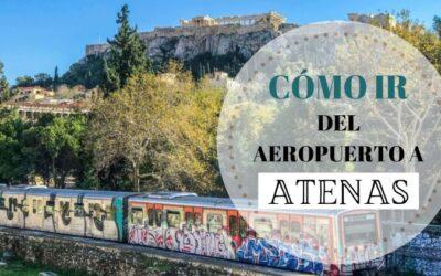 Cómo ir del aeropuerto de Atenas al centro
