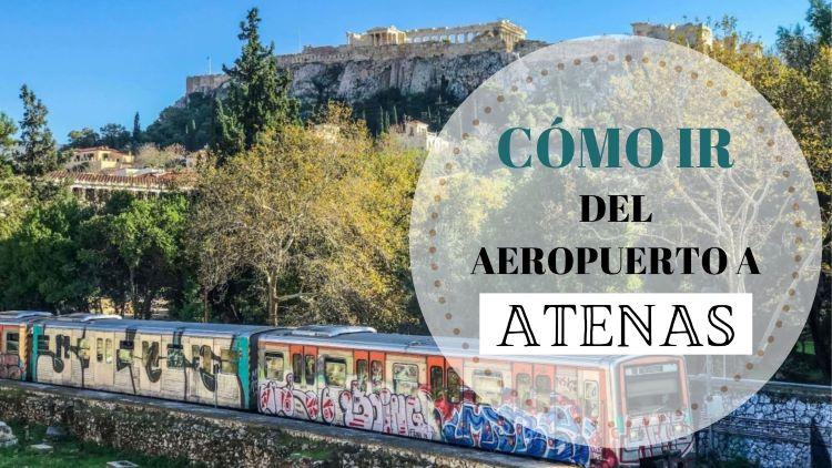 Portada cómo ir del aeropuerto de Atenas al centro