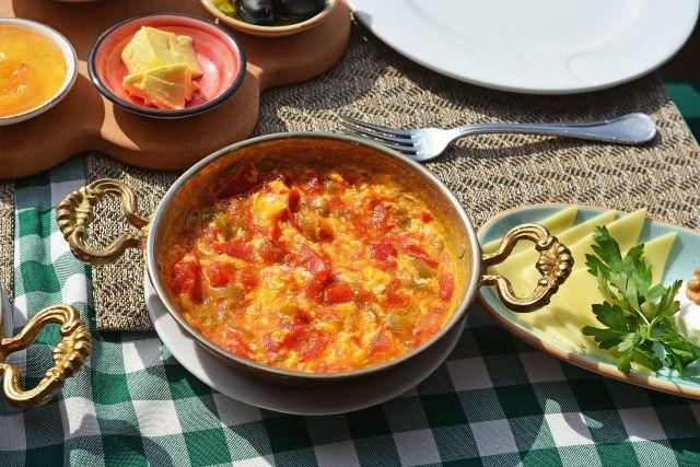 Menemen, uno de los platos más típicos que comer en Estambul