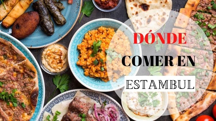 Portada qué y dónde comer en Estambul