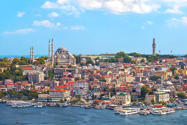 Dónde dormir en Estambul: panorámica del barrio Eminönü y Sirkeci