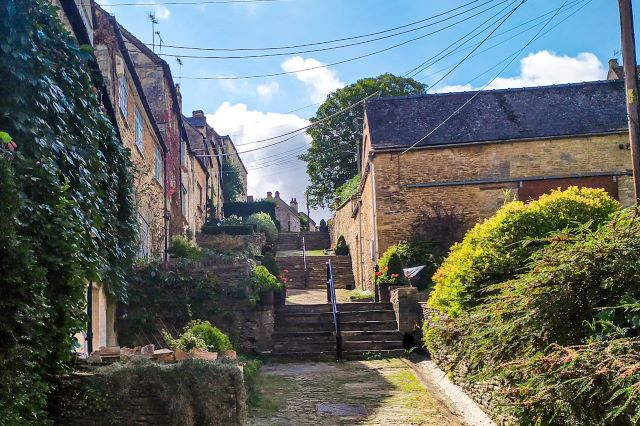 The Chipping Steps en Tetbury