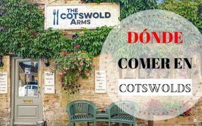 Dónde comer en los Cotswolds con las 3 b´s